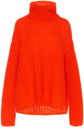 Marni Mohair Knit Turtleneck Sweater