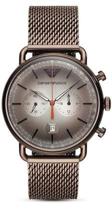 Emporio Armani Aviator Chronograph, 43mm