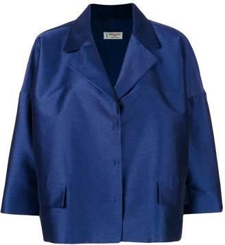 Alberto Biani oversized cropped jacket