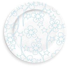 notNeutral Blue Flora Serving Plate