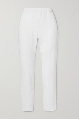 Stella McCartney Tamara Stretch-crepe Tapered Pants - White
