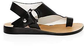 Rag & Bone Women's Arc Flat Leather Sandals