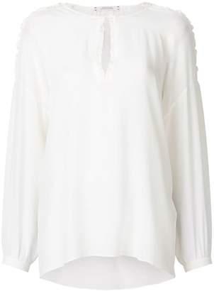 Schumacher Dorothee laced shoulder blouse