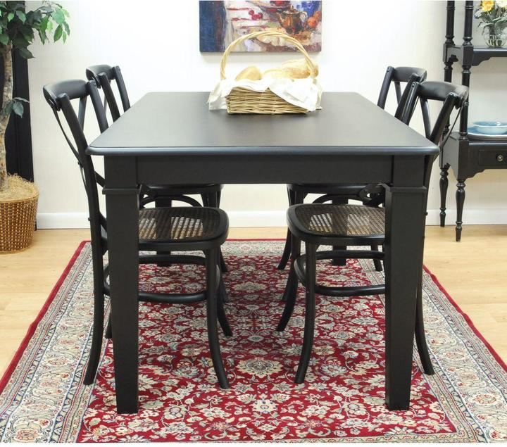 Hudson Carolina Cottage Antique Black Dining Table Top