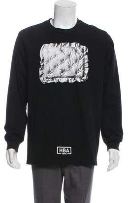 Hood by Air Graphic Crew Neck T-Shirt