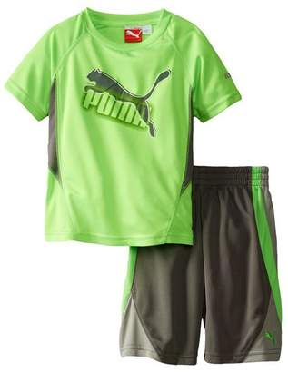 Puma Infant Boys Soccer Cat Perfect Jersey and Shorts Set