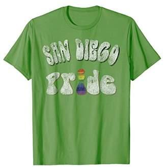 Distressed San Diego Gay Pride Vintage T-Shirt