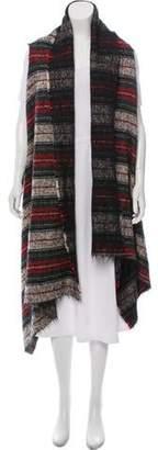 Isabel Marant Striped Wool-Mohair Vest
