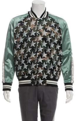 Valentino Souvenir Printed Bomber Jacket