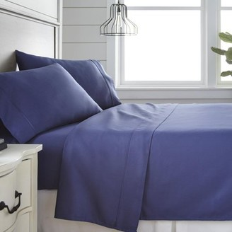 Noble Linens 300 Thread Count 4 Piece Bed Sheet Set - 100% Cotton
