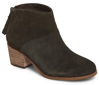 Toms Leila Leather Ankle Bootie