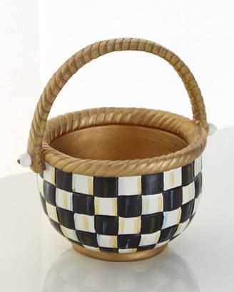 Mackenzie Childs MacKenzie-Childs Courtly Check Basket - Small