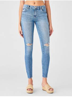 DL1961 Florence Ankle Mid Rise Skinny | Ruston