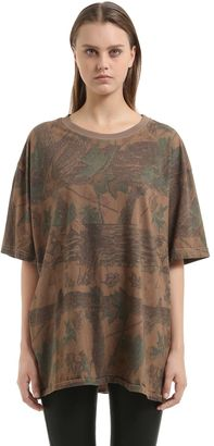 Forest Printed Cotton Jersey T-Shirt $250 thestylecure.com