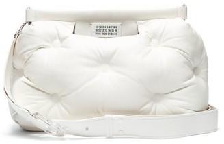 Maison Margiela Glam Slam Large Quilted Leather Bag - Womens - White