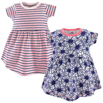 Baby Vision Touched By Nature Organic Cotton Dress, 2-Pack, 2T-5T