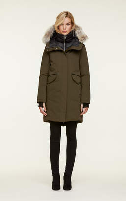 Soia & Kyo PAYTON straight-fit mid-length classic down coat