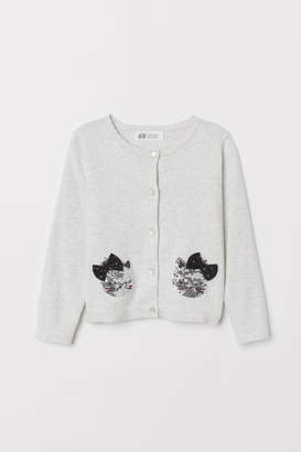 H&M Cardigan with appliques
