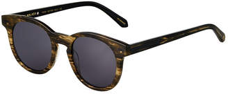 Karen Walker Wide Round Acetate Sunglasses
