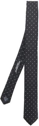 Dolce & Gabbana contrast embroidered tie