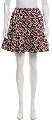 Philosophy di Lorenzo Serafini Printed Mini Skirt