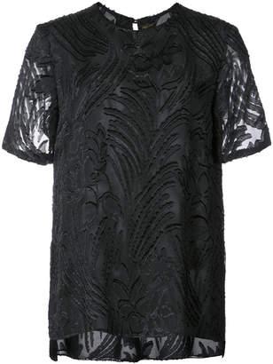 ADAM by Adam Lippes textured sheer T-shirt