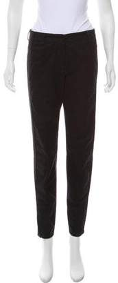 Dries Van Noten Mid-Rise Straight-Leg Pants