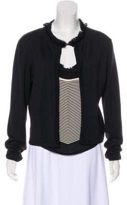 Chanel Silk Cardigan Set