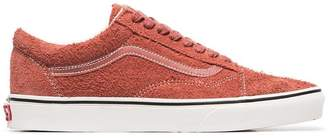 Vans red hot sauce Old Skool suede sneakers