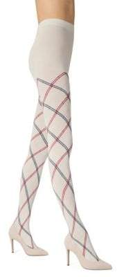 Fogal Karmine Diamond-Print Pantyhose