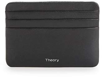 Theory Men's Classic Leather Card Case