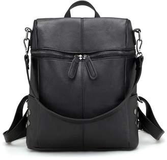 5067f1abdf48 DSLONG Luxury Designer Women Backpack Purse Bag Multifunction Leather  Travel Rucksack Handbag Purse Ladies