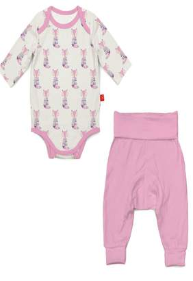 Magnificent Baby Fox Bodysuit Set