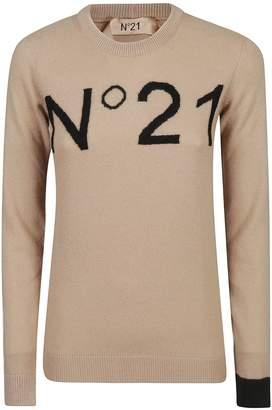 N°21 N.21 Logo Jumper