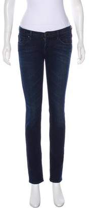 Maison Scotch Low-Rise Skinny Jeans