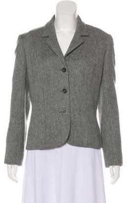 TSE Wool Herringbone Blazer
