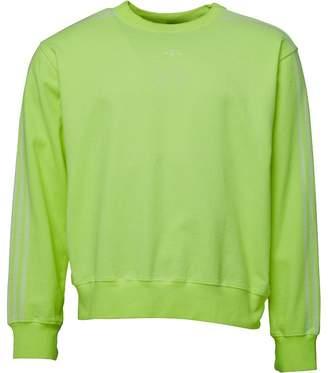 adidas x Alexander Wang Mens Bleach Sweatshirt Semi Solar Yellow