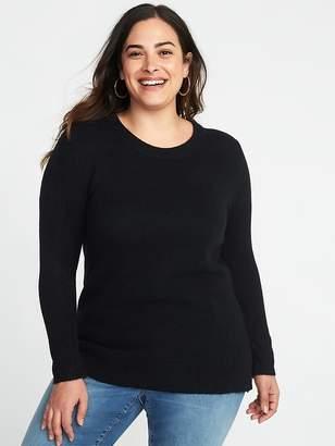 Old Navy Plush Rib-Knit Plus-Size Sweater