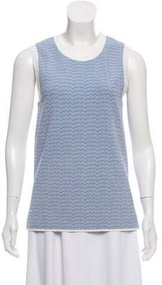 Tory Sport Chevron Sleeveless Top