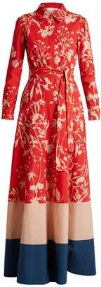 DAY Birger et Mikkelsen BORGO DE NOR Carolina Weed-print cotton maxi dress