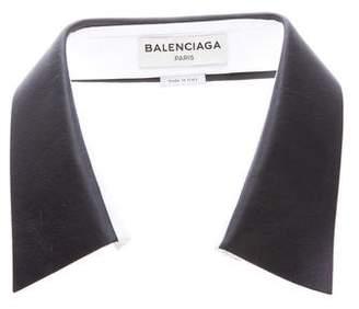 Balenciaga Removable Leather Collar