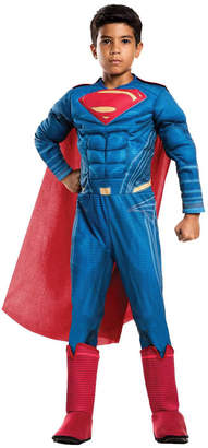 DC Boys) Large Justice League Deluxe Superman Costume