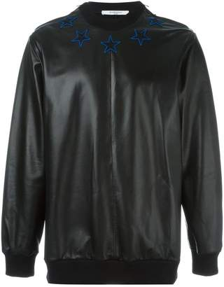 Givenchy star patch sweatshirt
