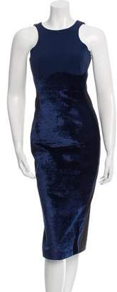 Stella McCartney Velvet Midi Dress
