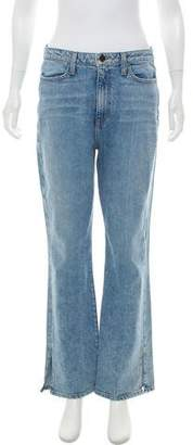 Alice + Olivia High-Rise Flared Jeans