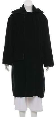 Jean Paul Gaultier Angora Longline Coat