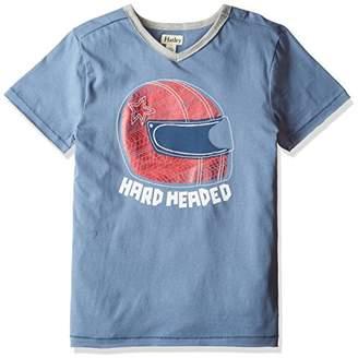 Hatley (ハットレイ ボーイズ Tシャツ TS5HARD393 ブルー 6Y(119cm) 日本120cm