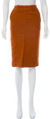 Marni Alpaca Pencil Skirt