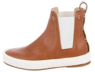 Feit Round-Toe Chelsea Boots