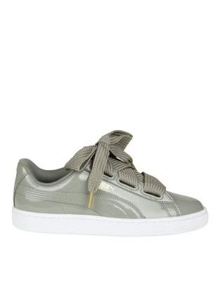 Puma Sneakers basket Heart In Grey Patent